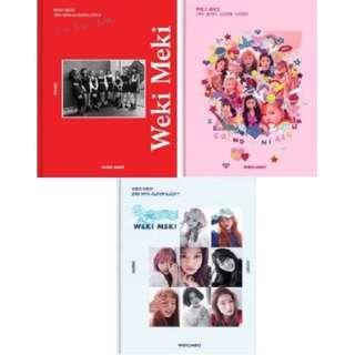 WEKI MEKI 2nd Mini Album Lucky (Weki / Meki / Lucky Ver.)