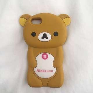 RILAKKUMA BEAR IPHONE 5 CASE