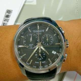 🚚 天梭Tissot建構師石英錶