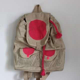 Wawbaw canvas backpack