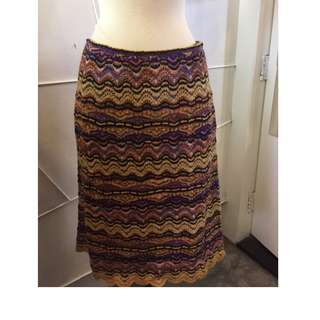 Brand New ! Missoni Knit Skirt - Missoni針織裙