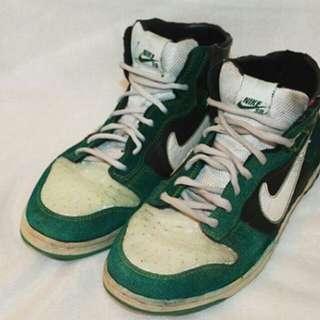 Nike SB dunk High Green
