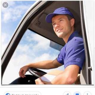 Part Time/Full Time Driver Position - Start Immediately
