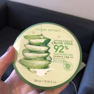 NATURE REPUBLIC - Soothing & Moisture 92% Aloe Vera Soothing Gel 300ml