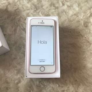 iPhone SE Rosegold 16g