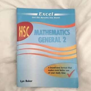 HSC GENERAL MATHS TEXTBOOK