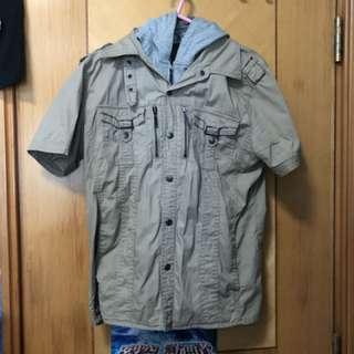 台灣 短䄂 外套