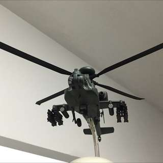 *Limited Edition* Apache Model Helicopter