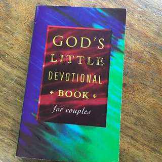 god's little devotional book for couples