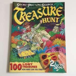 TREASURE HUNT 3D picture search book(