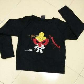hysteric glamour sweatshirt (kids)