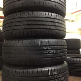 205/60/16 continental CPC5 SSR used tyres