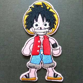 One Piece Japan Anime Iron On Patch