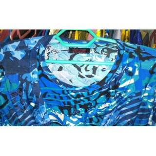 Maryam Nursing Blouse (Blue Colour)