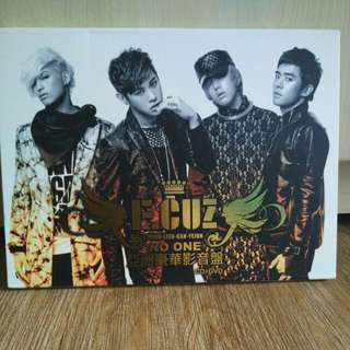 F.CUZ 2010 First Mini Album No One (Asia / Taiwan Version) (CD+DVD)