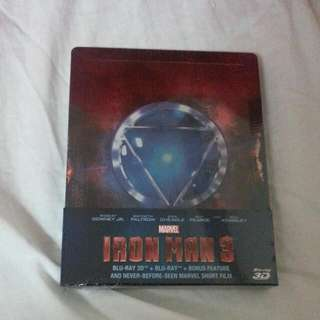 Marvel:Iron Man 3 Blu-ray 3D(non-Negotiable)