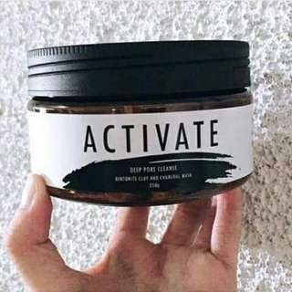 Activate charcoal and bamboo charcoal