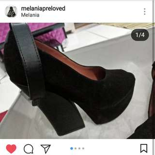 Sepatu wedges heels flatform