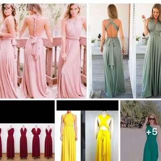 RESTOCK infinity dress