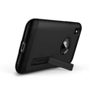Spigen Slim Armor iPhone X Black mulus 100% Original
