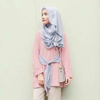 Syana Blouse Rosemary by Vanilla Hijab