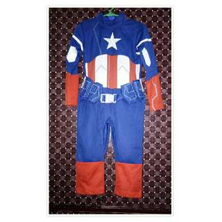 Captain America costume for baby boy