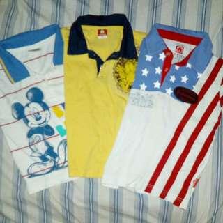 3pcs of t-shirts