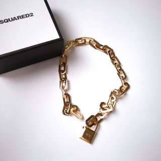 Dsquared Gold necklace