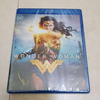 Wonder Woman Bluray and DVD combo pack with over 2 hours of bonus contents and special features
