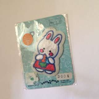 Sanrio vintage Cheery Chums badge 布章 1984