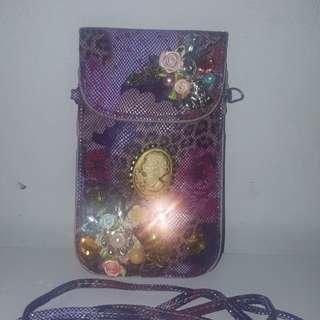 Sling Bag / Dompet HP / Tas HP / Tas Kecil / Selempang / Purple / Ungu