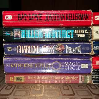 Lot of 10 assorted paperback books