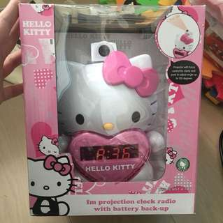 Hello kitty projection clock