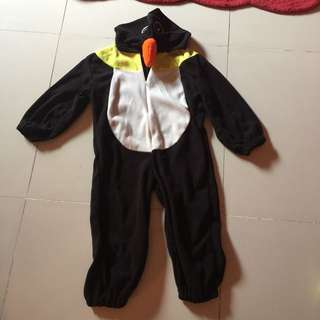 Penguin Overall Costume