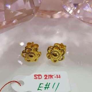 21K Earring