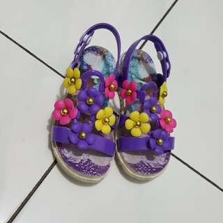 Flower jelly shoes* FREE ONG