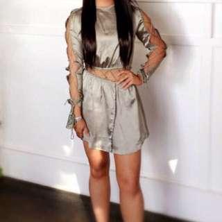 Khaki dress