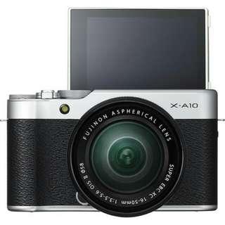 Kredit Dp 10% Fujifilm X-T10 Kit 16-50mm - Cicilan tanpa kartu kredit
