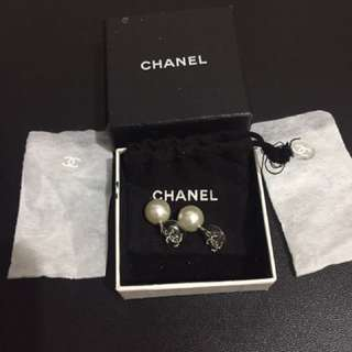 Authentic Chanel earrings/bought from Japan!