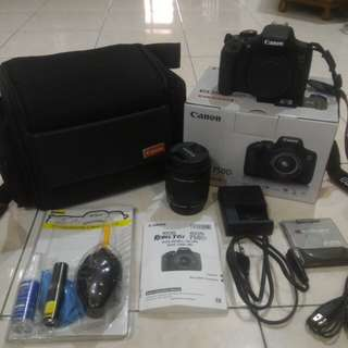 Canon 750D WIFI + EFS 18-55MM STM LENS