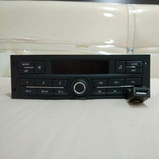 Waja Peugeot Radio Audio USB Player