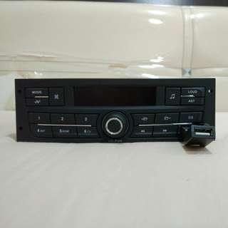 Waja Peugeot Radio Audio USB Player