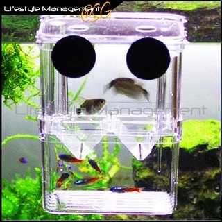 Aquatic Fish Tank/Aquarium Breeding Isolation Separation/Separator Isolate/Divider Box/Tank