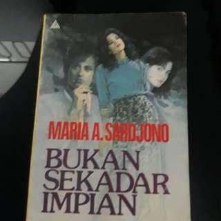 Novel Bukan Sekedar Impian