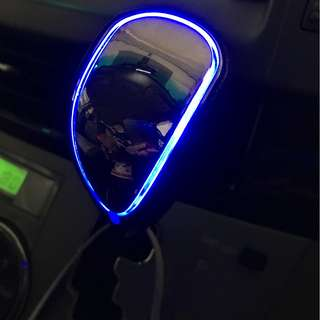 Toyota Estima / Previa LED Gear Knob (blue color in stock)