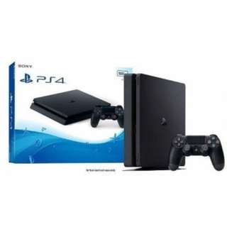 PS4 Slim with 2 Controllers + 12 games
