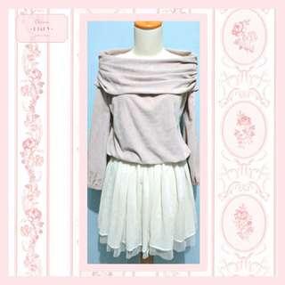 Gorgeous Knit Top (hanya atasan)
