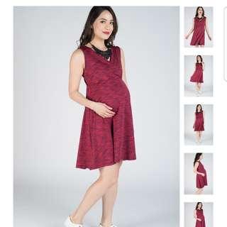 BNWT Jump Eat Cry Maternity/ Nursing Dress size M