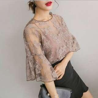 Chiffon Lace Embroidery
