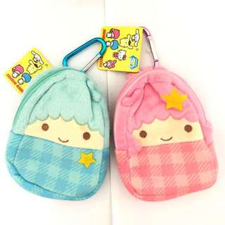 Little Twin Star plush pouch